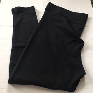 Simply Vera Vera Wang heavyweight lines leggings